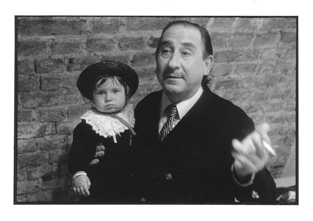 Zbigniew Legutko z córką